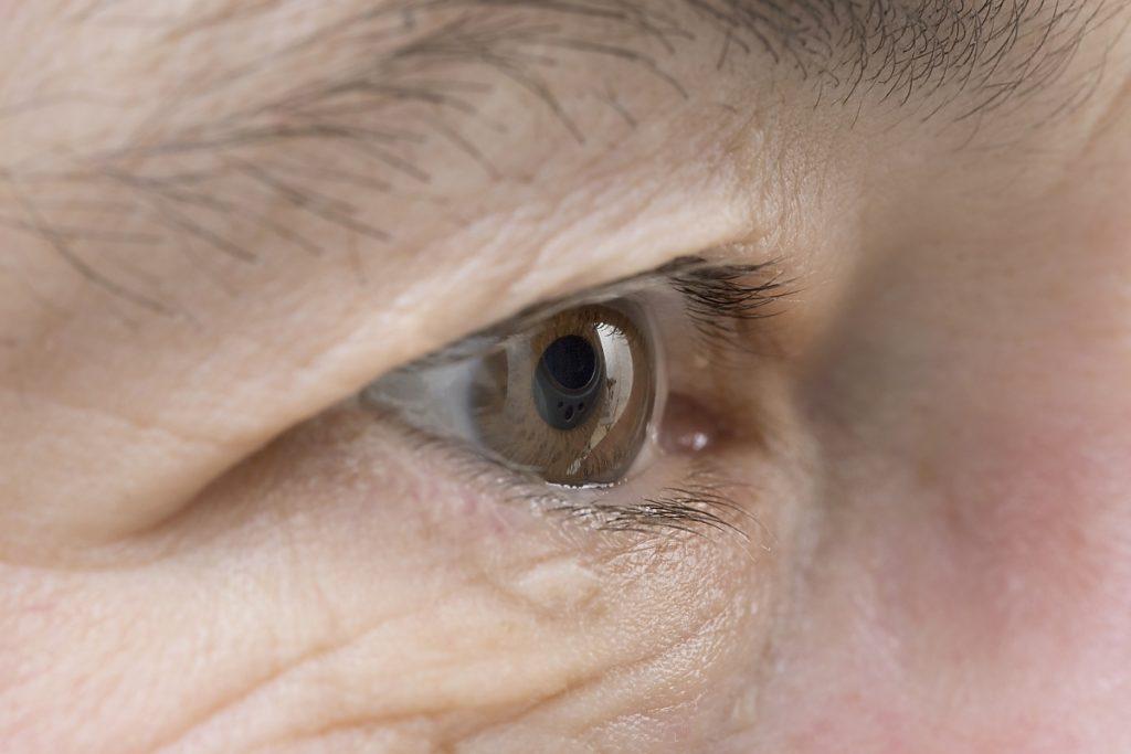 Augenärztliche Untersuchung Grüner Star bei Augenärztin Dr. med. Koulen (Fotograf: Markus Palzer)